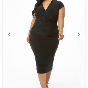 Black Forever 21+ Dress